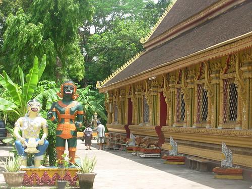Vientiane 2007-Wat Simuang (8)