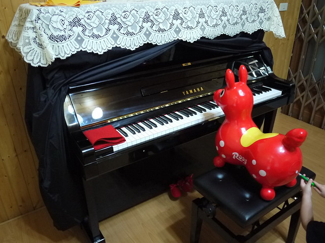 台南鹽行吳小姐-YAMAHA U.P(日本原裝3號米字琴)