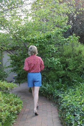 Iris Shorts in giveaway denim