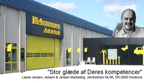 Lasse Jensen: anbefaling af Mekonomen Autoteknik - ES Motor
