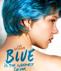 The poster for Blue is the Warmest Color