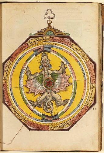 006-Astronomicum Caesareum-1540- Petrus Apianus -Staatsblibliothek Bamberg