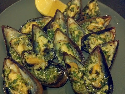 Broiled Mussels with Lemon Garlic Butter | Flickr - Photo Sharing!