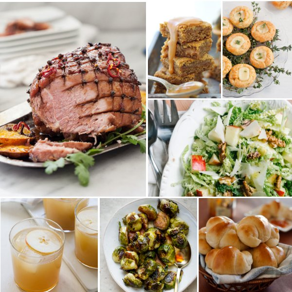 A Thanksgiving Menu with Recipes from Some of my Favorite Bloggers