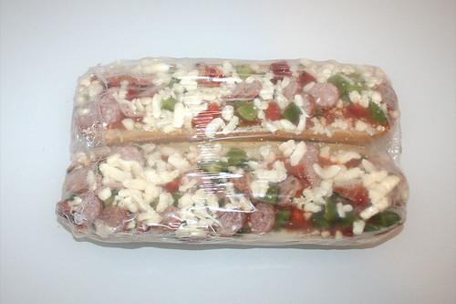 03 - Alberto Baguettes Salami - gefroren in Folie / frozen in foil