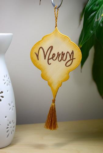 Coloured Ornament Back