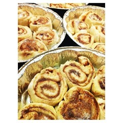 fried food(0.0), produce(0.0), meal(1.0), baked goods(1.0), cinnamon roll(1.0), food(1.0), dish(1.0), cuisine(1.0), danish pastry(1.0),