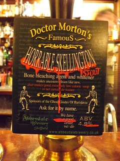 Doctor Morton's, Famous Horrable Skellington, England