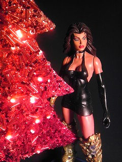 Merry Christmas 2013 ~ Sara Pezzini in Black Dress as Medieval WITCHBLADE IMAG4708