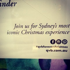 No Twitter campaign due to worlds longest social marketing tag? #qvbforeverchristmas