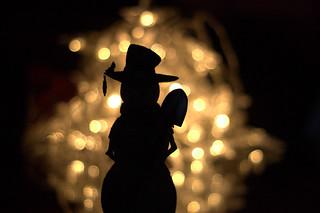 snowman sillhouette1
