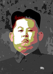 Kim Jong-un - Caricature Posterized