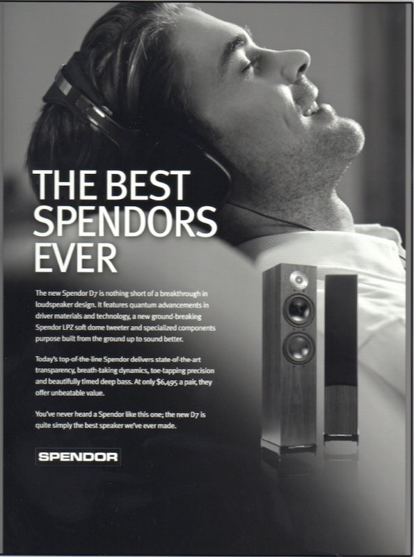 Spendor D7 - 2 Channel - HiFi WigWam