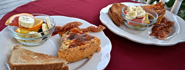 bayfront marin house breakfast