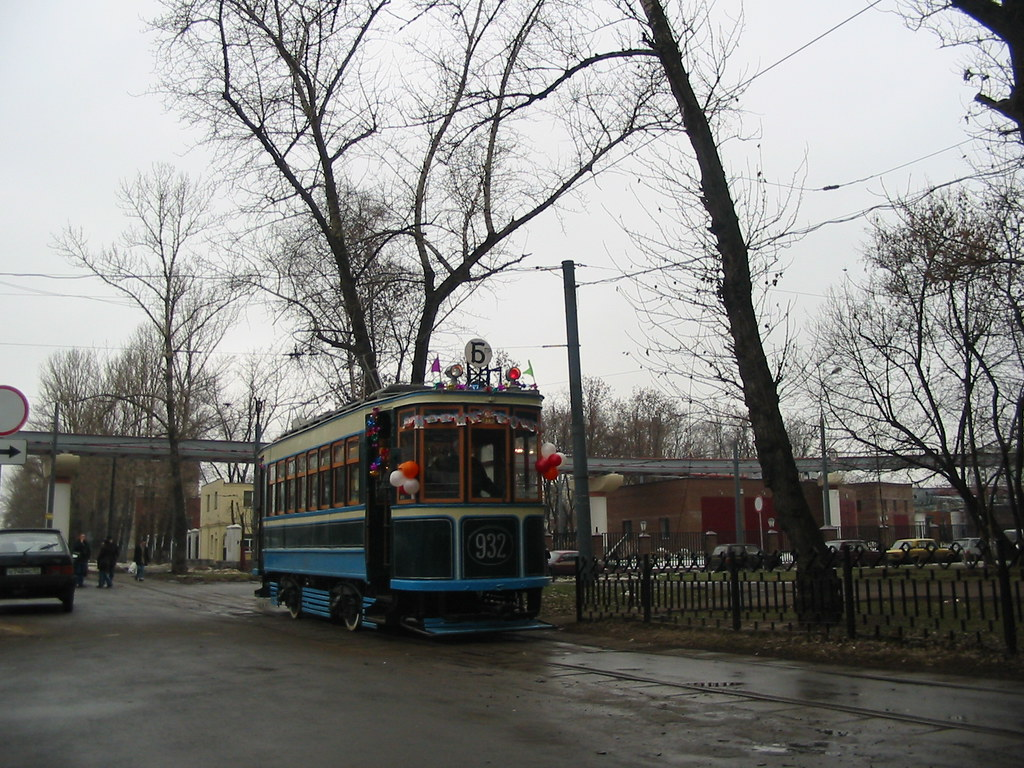 moscow tram BF 932 _20031231_071