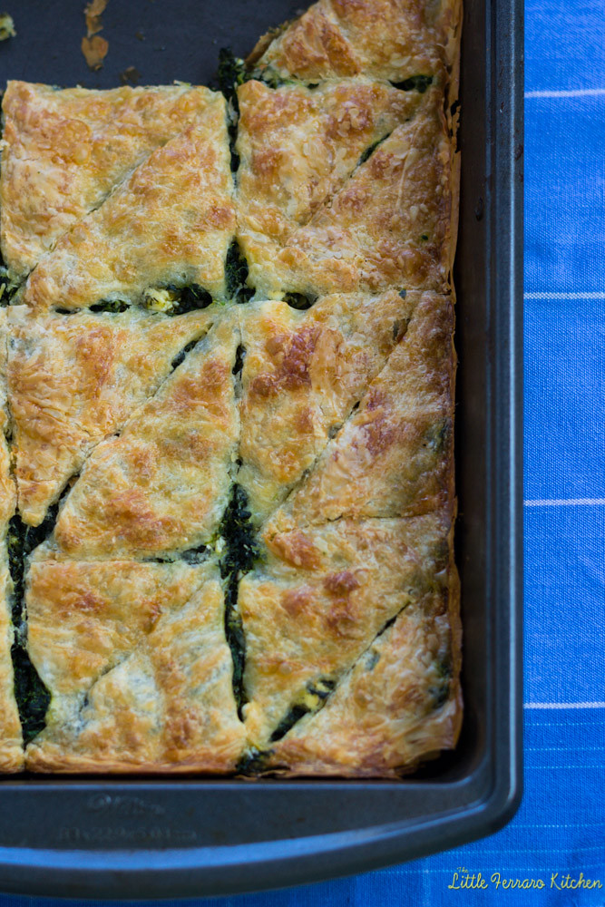 Spinach and Feta Borek via LittleFerraroKitchen.com