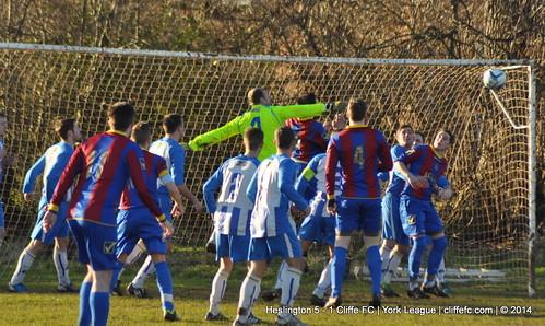 Cliffe FC 1 - 5 Heslington 11Jan14