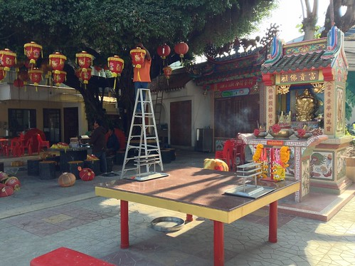 泰国乌隆府本头公妈庙