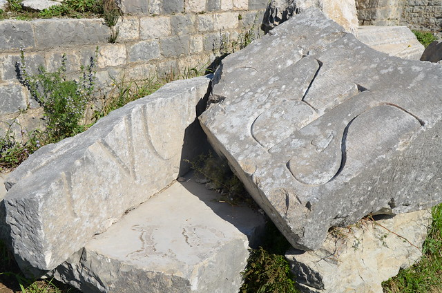 Fragmentary inscription from the Roman amphitheatre, Salona