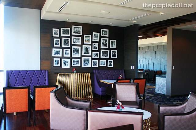 Bellevue Manila Signature Club Lounge Spacious Area