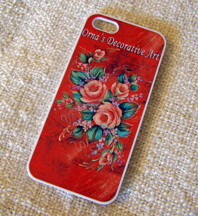 Golden Roses phone case by Orna Shachar