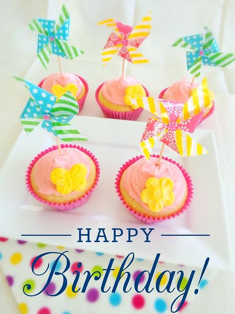 Happy Birthday Cupcakes!