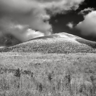 western flank and summit, mount abraham, vermont