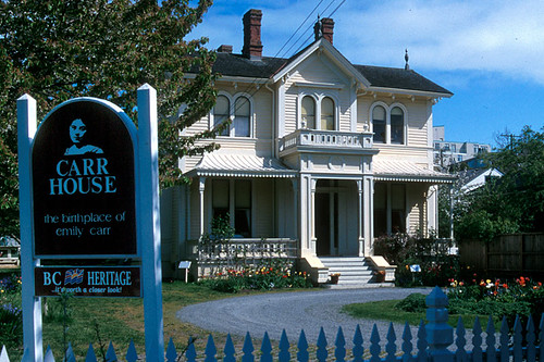 Emily Carr House, James Bay, Victoria, Vancouver Island, British Columbia, Canada