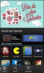 Aplicaciones para BlackBerry