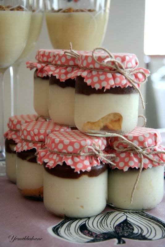 Kavanozda Çikolatalı Mousse