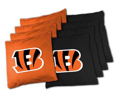 Cincinnati Bengals Cornhole Bags
