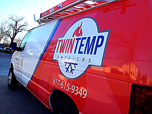 Twin Temp Service Van