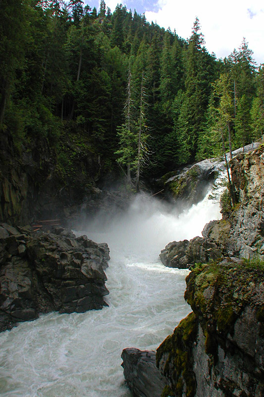 Nairn Falls Park, Pemberton, Sea to Sky Highway, British Columbia, Canada