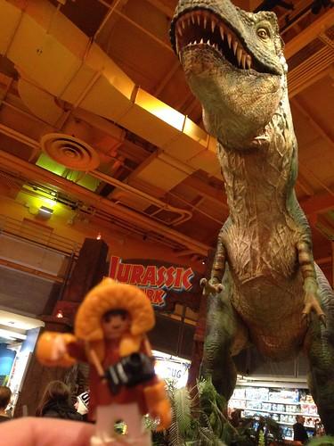 Times Square Toys R Us T Rex
