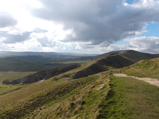 Mam Tor, Hollins Cross, Back Tor and Lose Hill walk 050