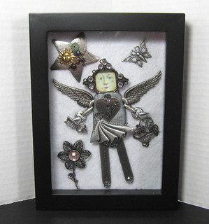 Metal Mabel shadow box 1