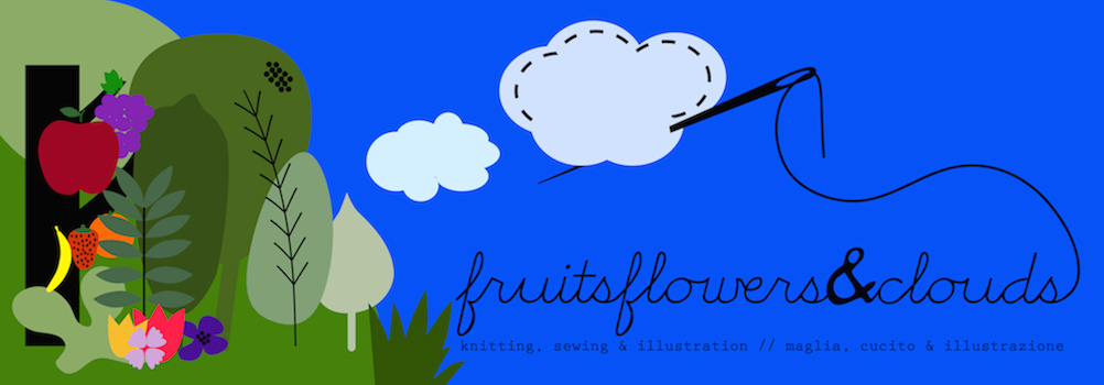 fruits,flowers&clouds
