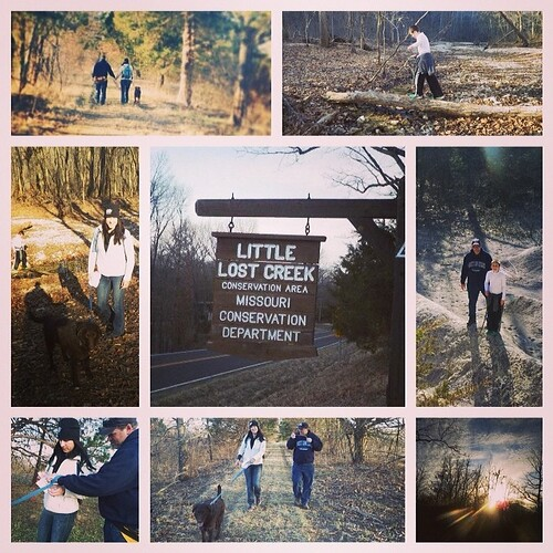 Day hike at Little Lost Creek State Forest