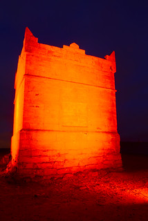 RIVINGTON PIKE (IN RED), RIVINGTON, LANCASHIRE, ENGLAND.