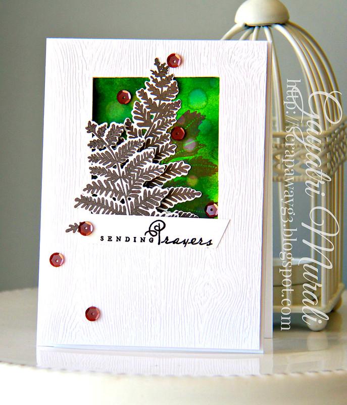 Sending prayers cards
