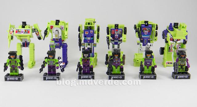 Transformers Devastator Kre-O - modo robot vs G1