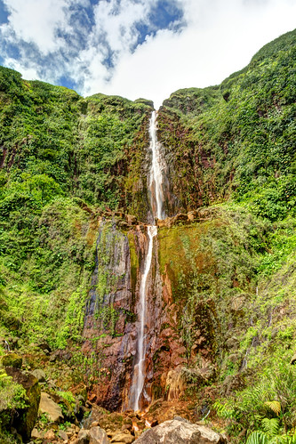 travel france fall water canon landscape island eos hiking dom ile paysage tamron cascade falaise guadeloupe randonnée outremer 550d 1750mm