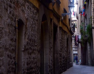 streets of the old quarter ….