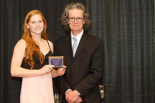 Jorri Duxbury and Dr. Alan Shaver (2013-14 Barnsley Award Andrew Snucins photo)