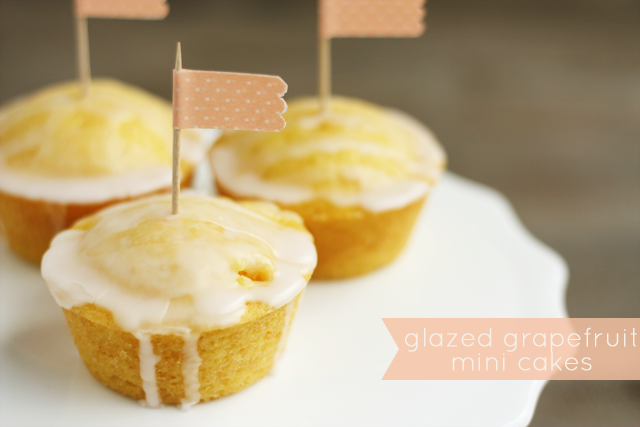 glazed-grapefruit-mini-cakes