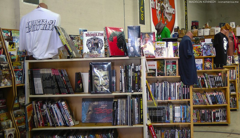 Mayhem Comic Book Store