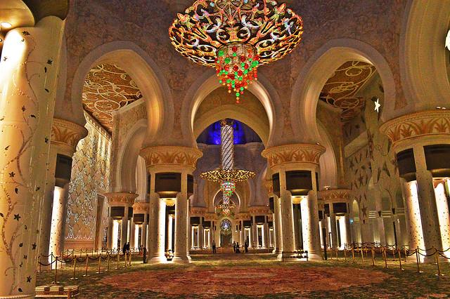 La espectacular Mezquita Sheikh Zayed en Abu Dabi 13725255415_abe8aae96f_z