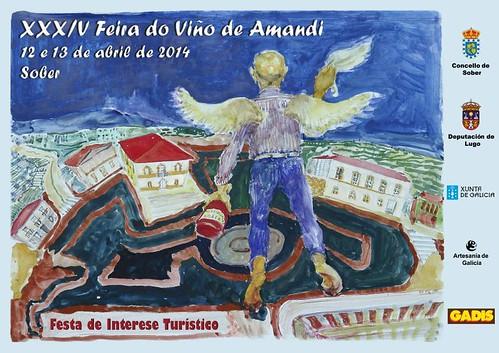 Sober 2014 - XXXIV Feira do Viño de Amandi - cartel