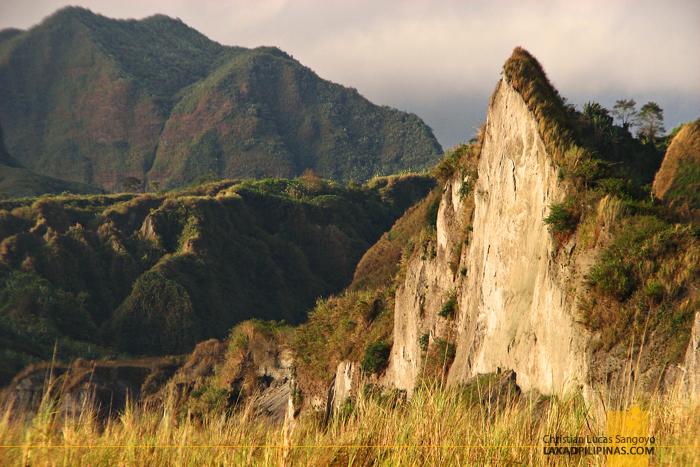 Mt. Pinatubo Lahar Landscape