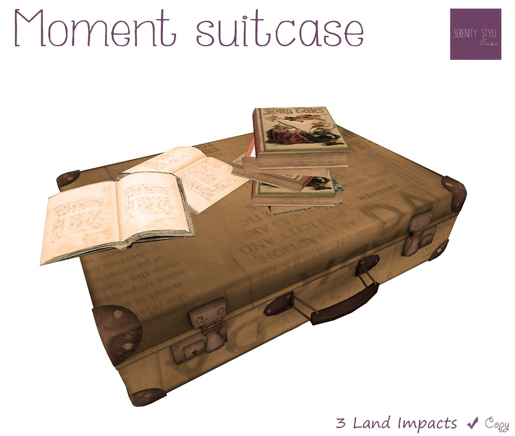 Serenity Style- Moment Suitcase